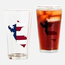 Peruvian American Drinking Glass
