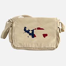 Panamanian American Messenger Bag