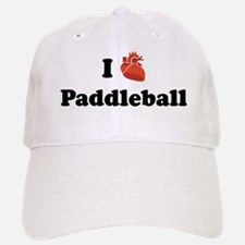I (Heart) Paddleball Baseball Baseball Cap
