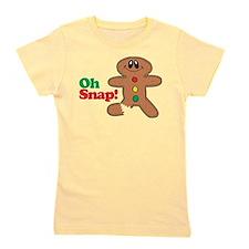 Funny Gingerbread Girl's Tee