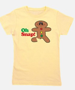 Cool Gingerbread Girl's Tee