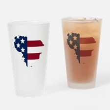 Lithuanian American Drinking Glass