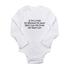 Cute Drag Long Sleeve Infant Bodysuit