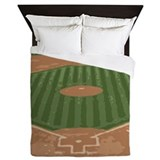 Baseball Queen Duvet Covers