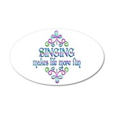 Singing Fun Wall Decal