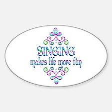 Singing Fun Decal