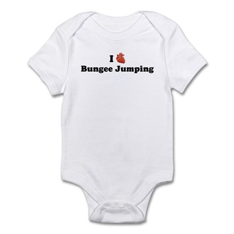 I (Heart) Bungee Jumping Infant Bodysuit