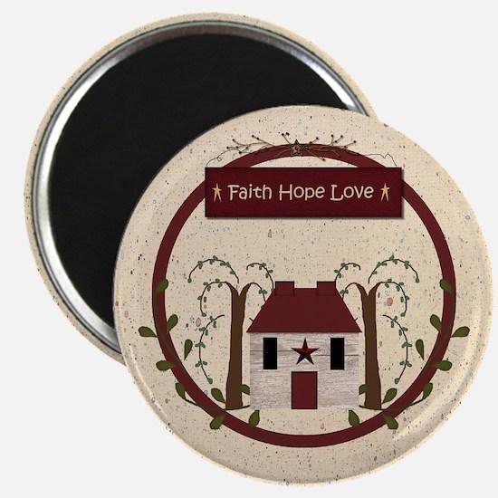 Faith Hope Love Magnets