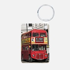 Vintage Red London Bus Keychains