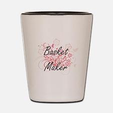 Basket Maker Artistic Job Design with F Shot Glass