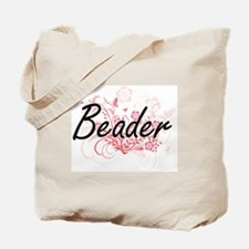 Cute Beading Tote Bag