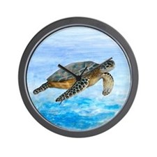 Turtle 1 Wall Clock
