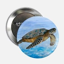 """Turtle 1 2.25"""" Button (10 pack)"""