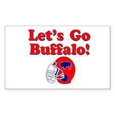 Buffalo Rectangle Decal