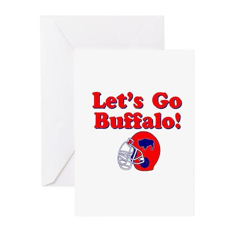 Buffalo Greeting Cards (Pk of 20)