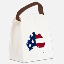 Australian American Canvas Lunch Bag