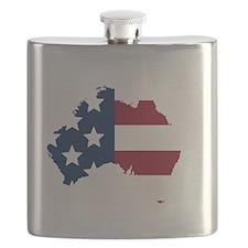 Australian American Flask