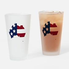 Australian American Drinking Glass