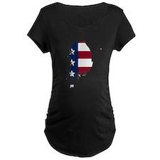 Korean American Maternity T-Shirt
