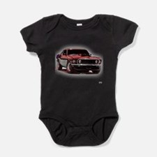 Unique Mustang shelby Baby Bodysuit