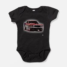 Funny Mustang Baby Bodysuit