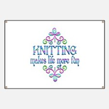 Knitting Fun Banner