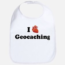 I (Heart) Geocaching Bib