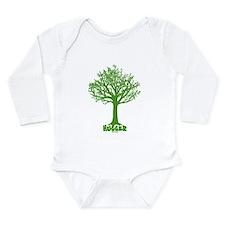 Unique Tree hugger Long Sleeve Infant Bodysuit
