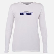 Cute Detroit Plus Size Long Sleeve Tee