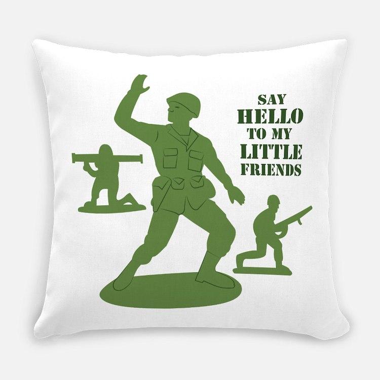 My Little Friends Everyday Pillow
