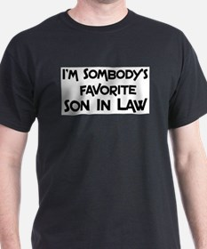 Unique Son in law T-Shirt