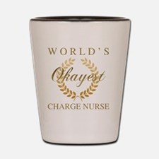 Cute Charge nurse Shot Glass