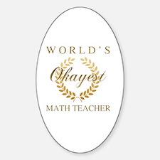 Cute World%27s best teacher Decal