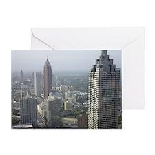Unique Atlanta skyline Greeting Card
