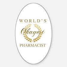 Cute Pharmacist joke Decal