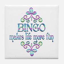 BINGO FUN Tile Coaster