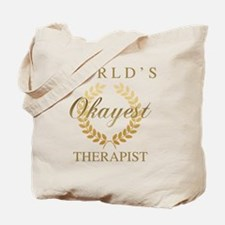 Unique Worlds best occupational therapist Tote Bag