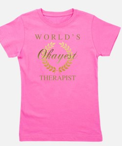 Cute Worlds best occupational therapist Girl's Tee