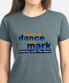 I Want To Dance With Mark Women's Dark T-Shirt