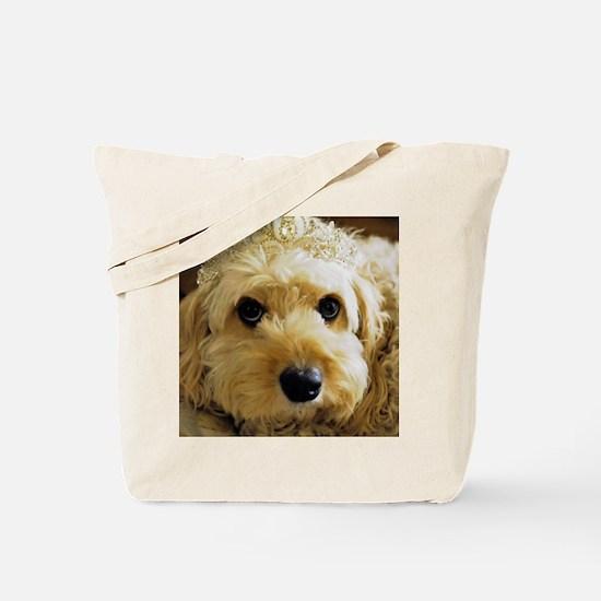 Cute Cavapoo dog Tote Bag