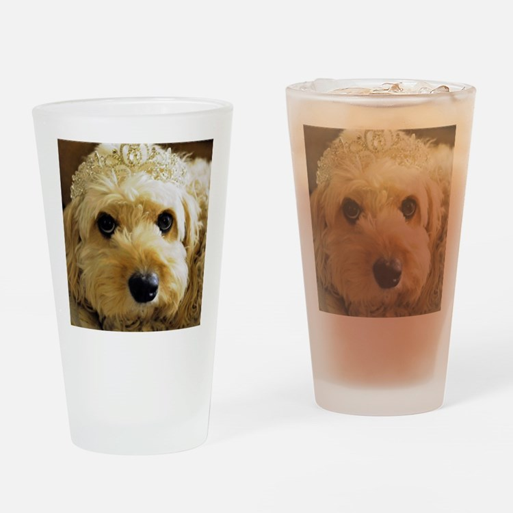 Cute Animals dogs Drinking Glass