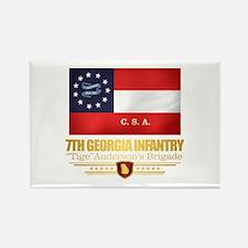 7th Georgia Infantry (v10) Magnets