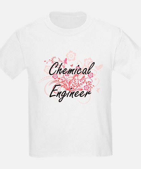 Chemical Engineer Artistic Job Design with T-Shirt