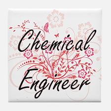 Chemical Engineer Artistic Job Design Tile Coaster