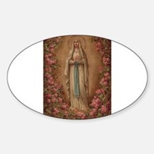 Our Lady Of Lourdes Decal