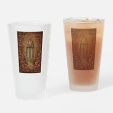 Our Lady Of Lourdes Drinking Glass