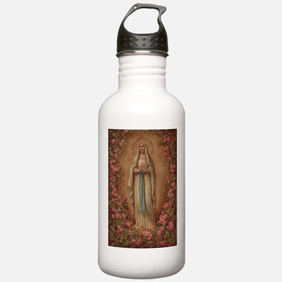 Our Lady Of Lourdes Water Bottle