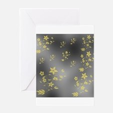 gold and silver Greeting Cards