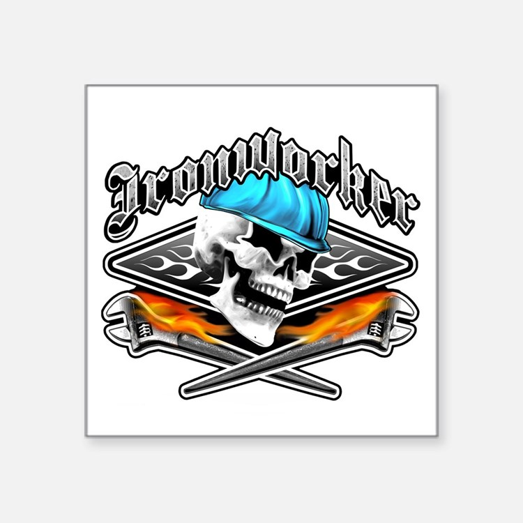 Ironworker 1 Sticker
