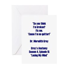SO YOU THINK... Greeting Cards